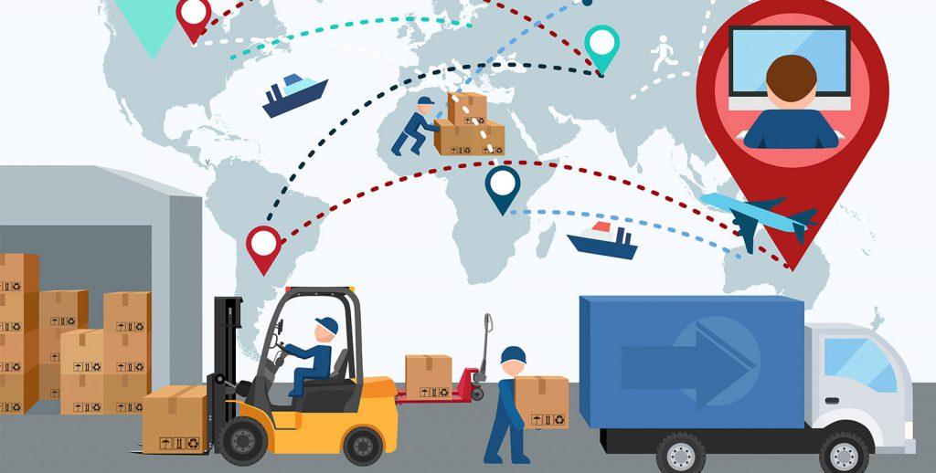 quy trình logistics hàng nhập khẩu đường biển