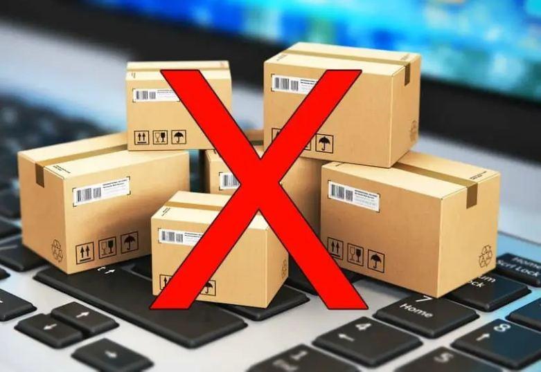 Những mặt hàng bị cấm nhập khẩu bằng đường hàng không