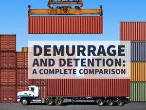 DEM và DET là gì? Phân biệt phí DEM, DET, STORAGE