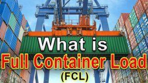 Một số lưu ý khi gửi hàng container theo phương thức giao nhận nguyên container FCL