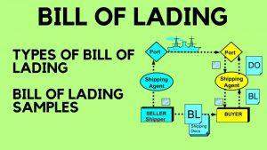 Các thông tin chi tiết trên Bill of Lading (B/L)