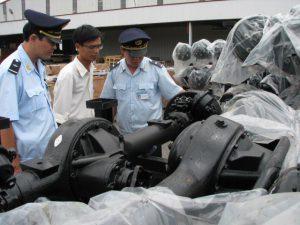 Thủ tục hải quan xử lý nguyên vật liệu dư thừa; phế liệu, phế phẩm, phế thải; máy móc, thiết bị thuê mượn