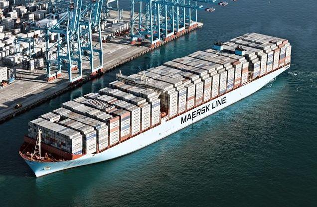 Đánh dấu vị trí của container trên tàu vận chuyển