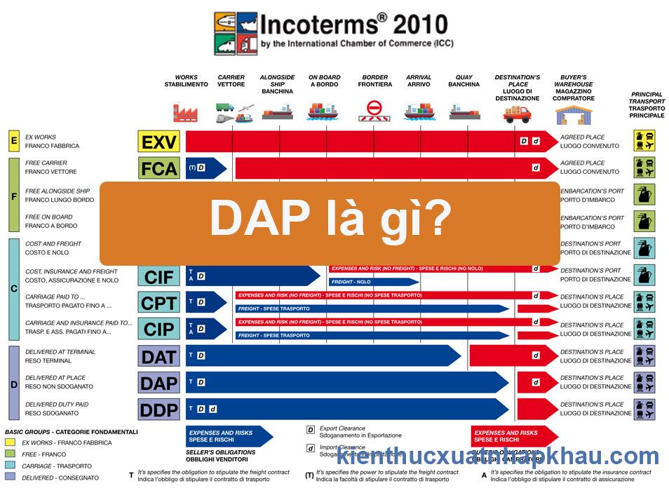 DAP là gì